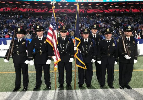 Photo of the West Seneca Police Department Honor Guard